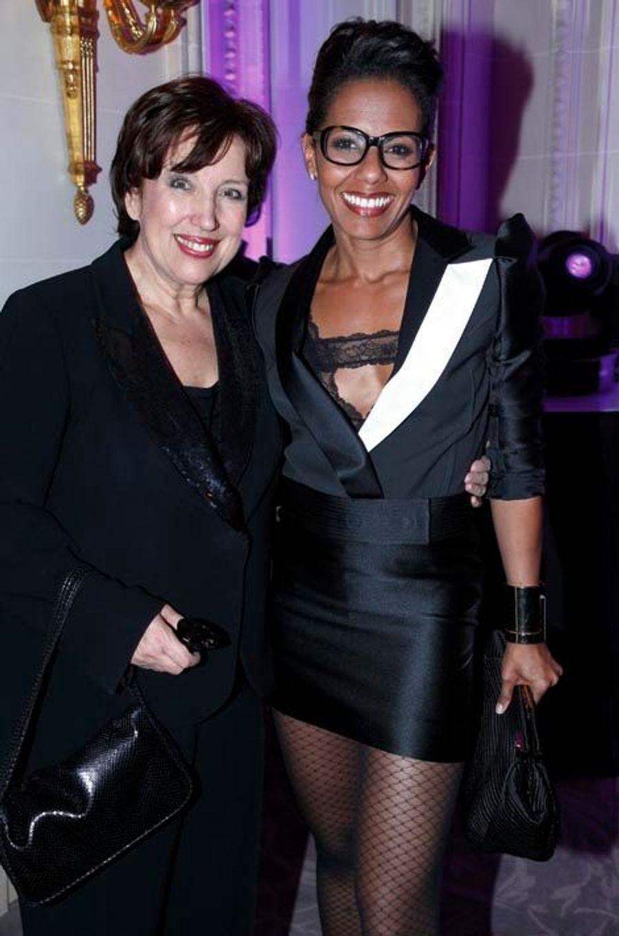 Roselyne Bachelot et Audrey Pulvar, adepte des minis sexy !