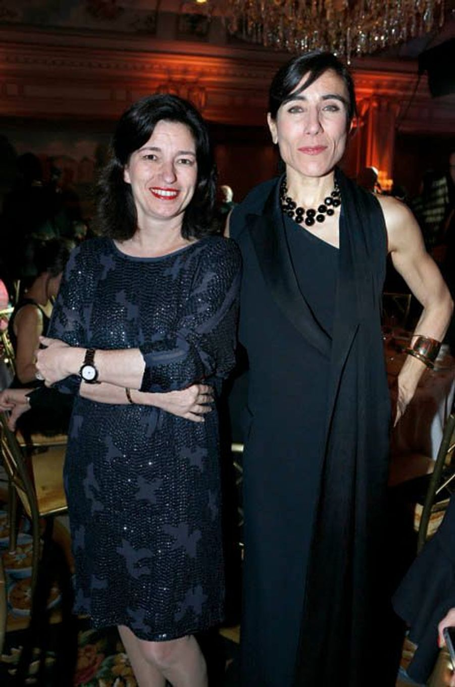 La présidente de Gerard Darel, Marianne Romestain, fan de danse, et la chorégraphe Blanca Li.