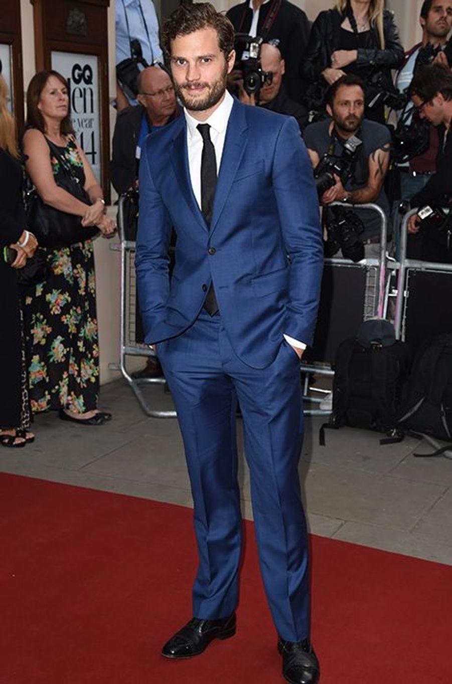 Jamie Dornan à la 17ème cérémonie des GQ Awards 2014.