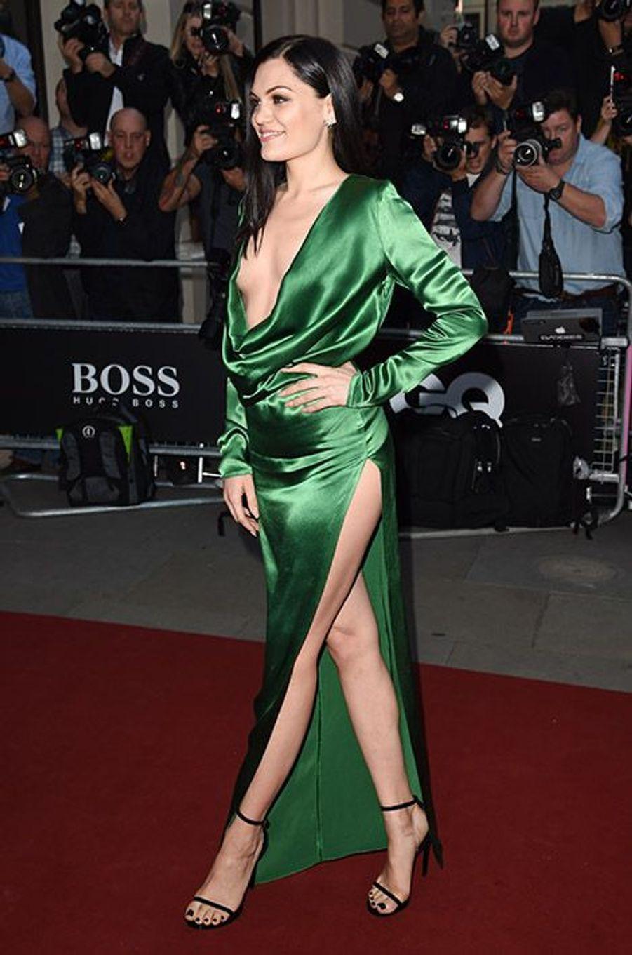 Jessie J à la 17ème cérémonie des GQ Awards 2014.