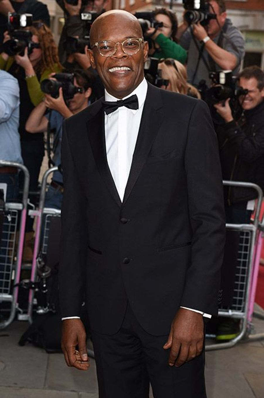 Samuel L. Jackson à la 17ème cérémonie des GQ Awards 2014.