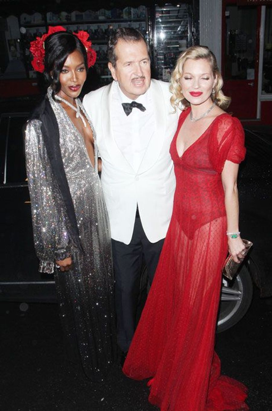 Naomi Campbell, Mario Testino et Kate Moss
