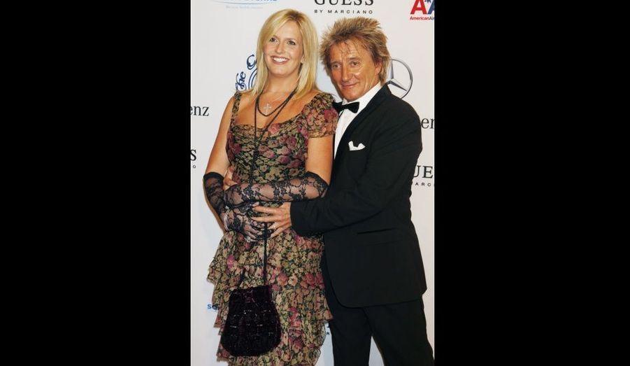 Rod Stewart et Penny Lancaster