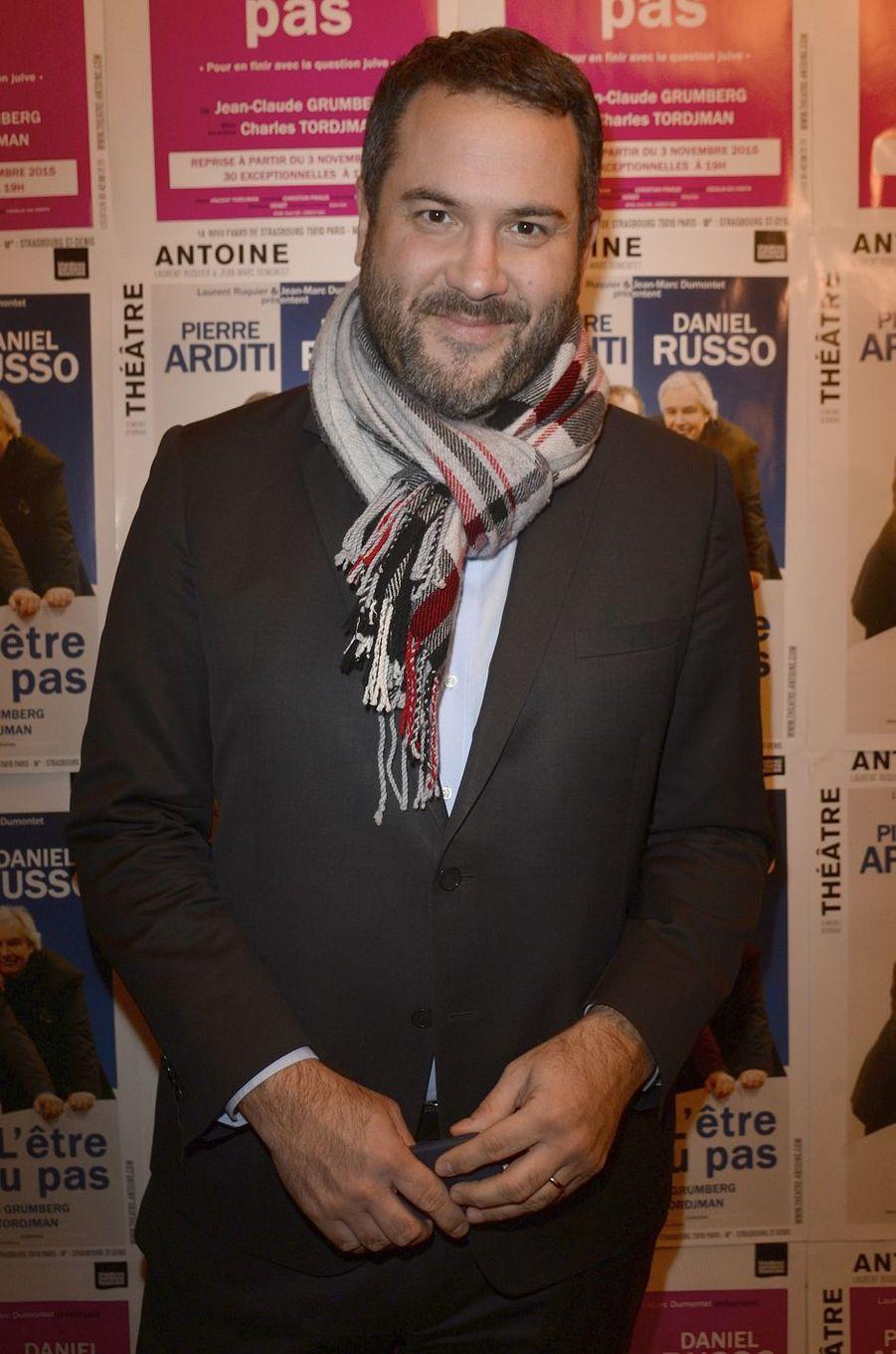 Bruce Toussaint à Paris le 21 mars 2016