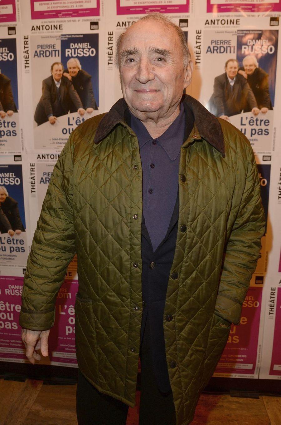 Claude Brasseur à Paris le 21 mars 2016