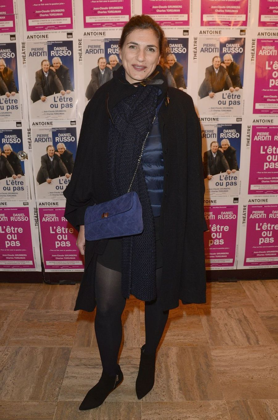 Emmanuelle Galabru à Paris le 21 mars 2016