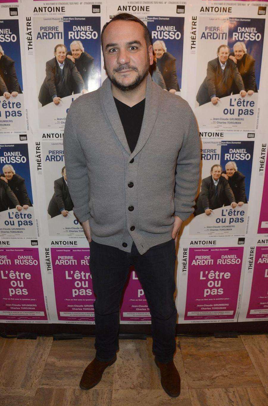François-Xavier Demaison à Paris le 21 mars 2016