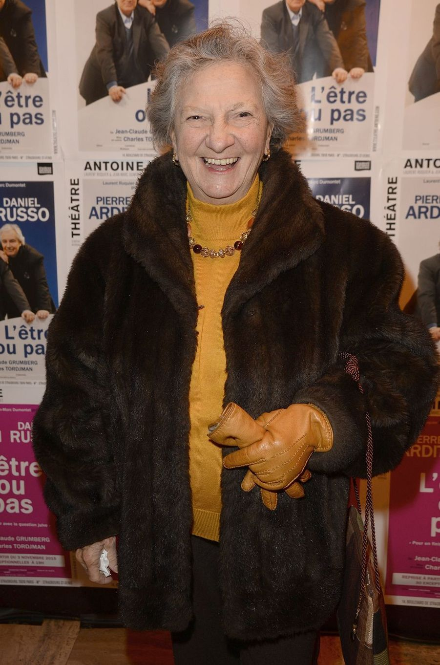 Marthe Villalonga à Paris le 21 mars 2016