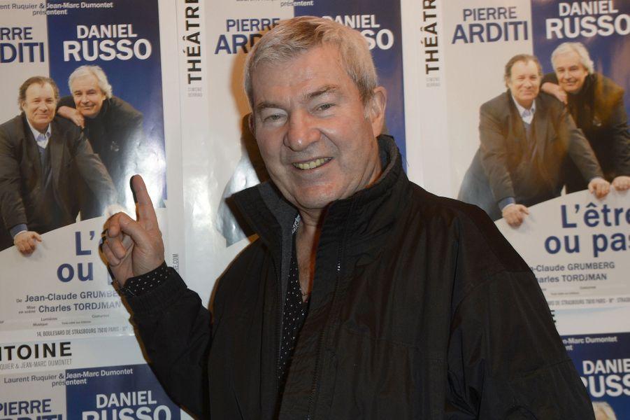 Martin Lamotte à Paris le 21 mars 2016