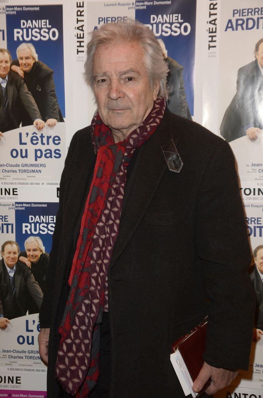 Pierre Arditi à Paris le 21 mars 2016