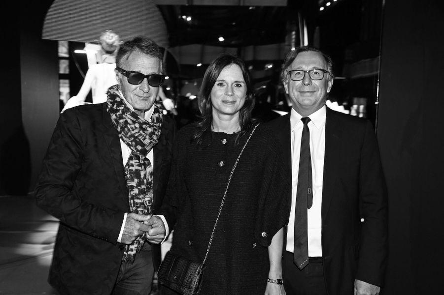 Eric Pfrunder, Nathalie et Bruno Pavlovsky.