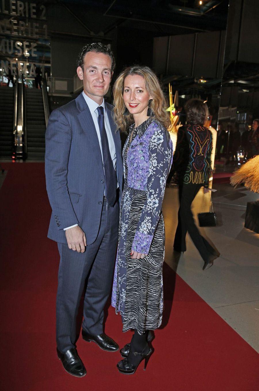 Alexandre et Olivia de Rothschild.