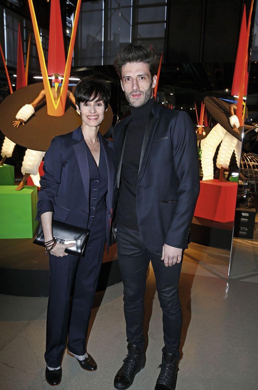 Marie-Claude Pietragalla et Julien Derouault.