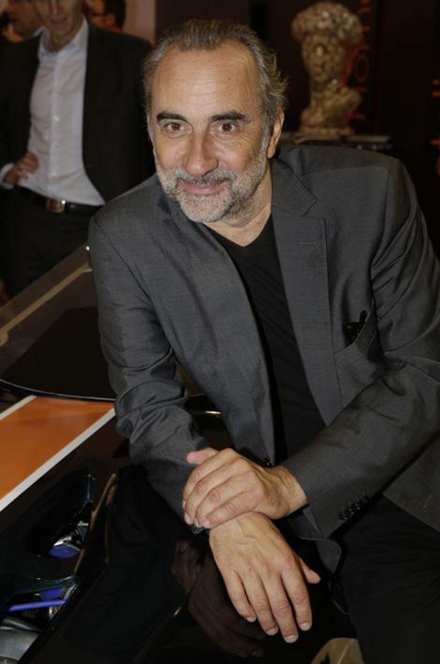 Antoine Duléry au Salon de l'Automobile 2014 à Paris le 2 octobre 2014