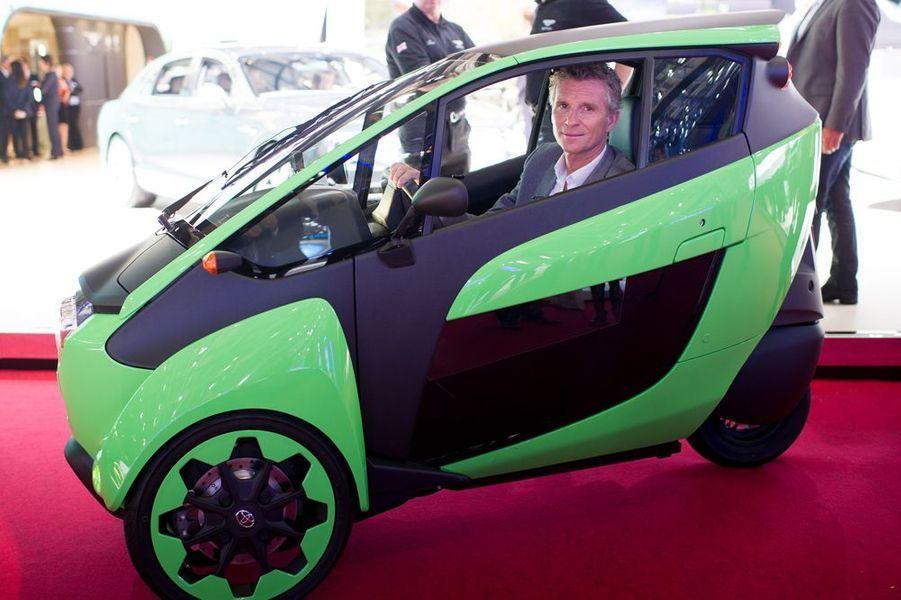 Denis Brogniart au Salon de l'Automobile 2014 à Paris le 2 octobre 2014