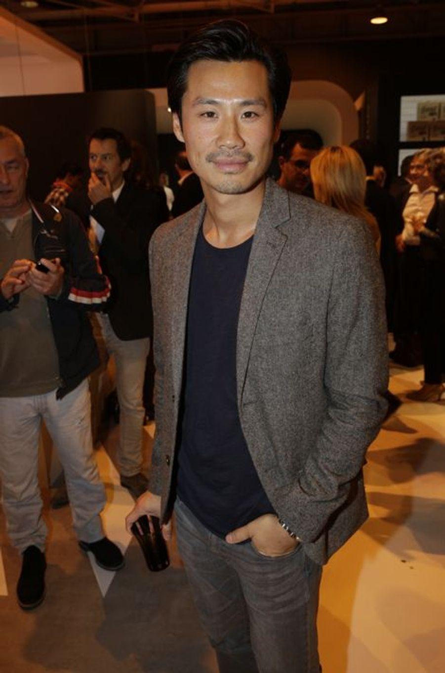 Frédéric Chau au Salon de l'Automobile 2014 à Paris le 2 octobre 2014