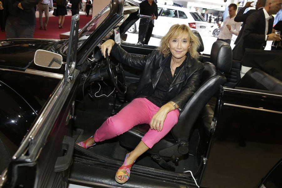 Marie-Anne Chazel au Salon de l'Automobile 2014 à Paris le 2 octobre 2014
