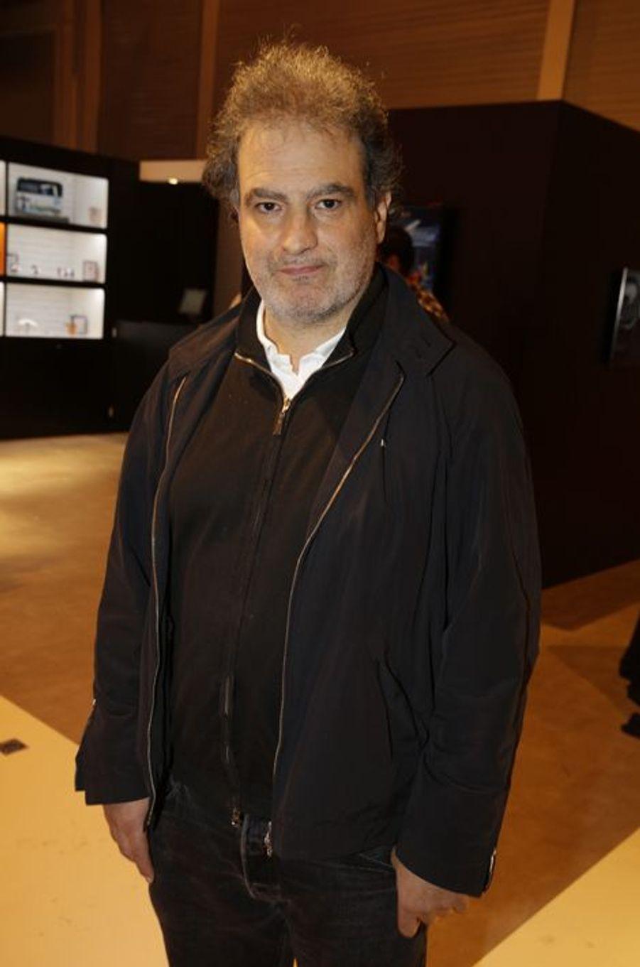Raphaël Mezrahi au Salon de l'Automobile 2014 à Paris le 2 octobre 2014