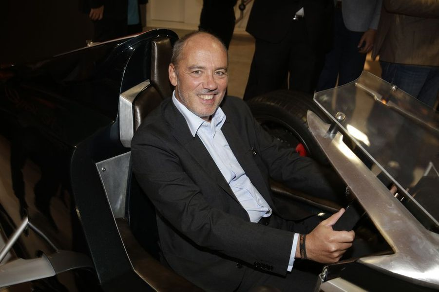Stéphane Richard, PDG d'Orange, au Salon de l'Automobile 2014 à Paris le 2 octobre 2014