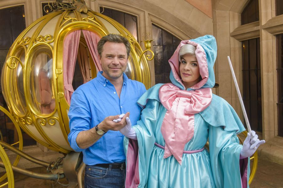 Guillaume de Tonquédec à Disneyland Paris.