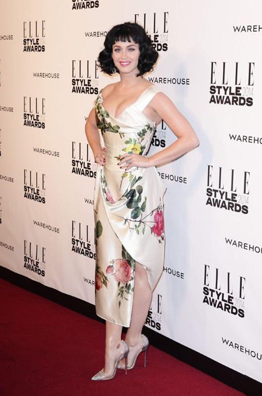 Katy Perry, reine de la soirée