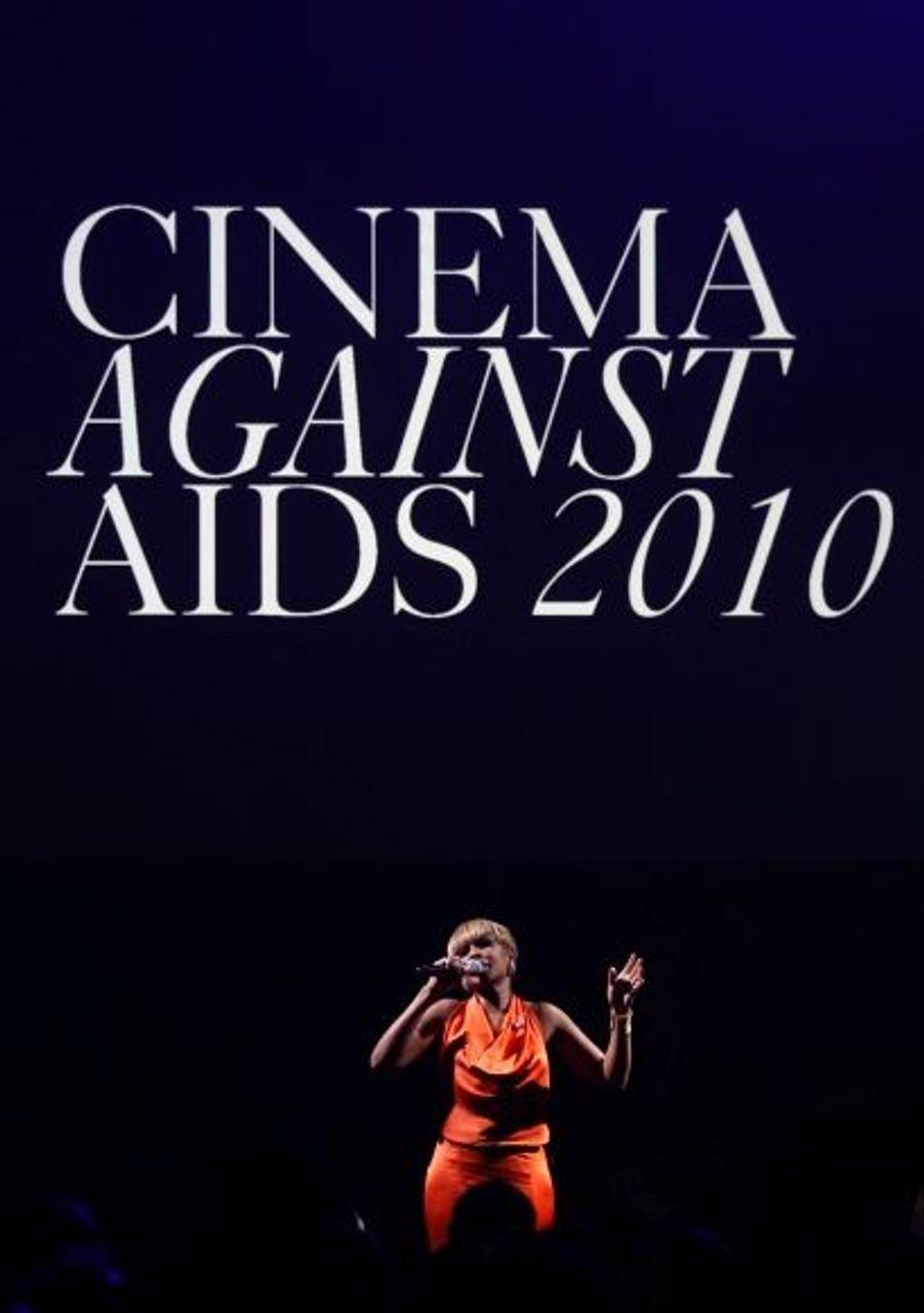 Mary J. Blige a donné un concert pour l'occasion.