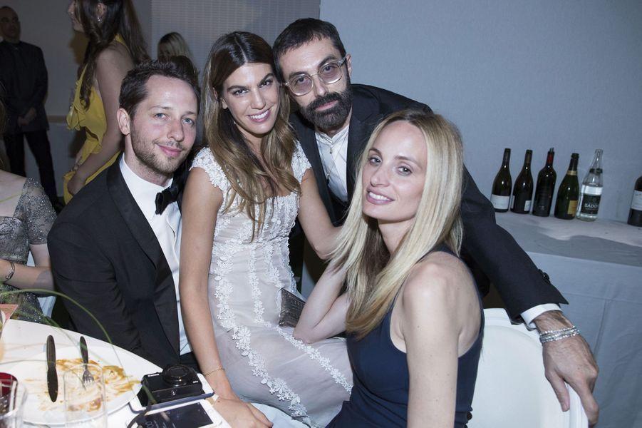 Derek Blasberg, Bianca Brandolini,Giambattista Valli, Lauren Santo Domingo.