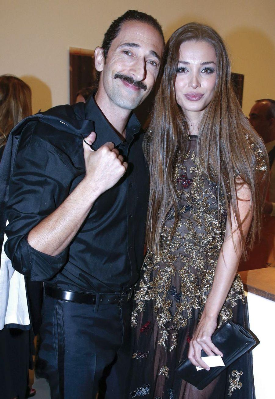 Adrien Brody et Lara Lieto.