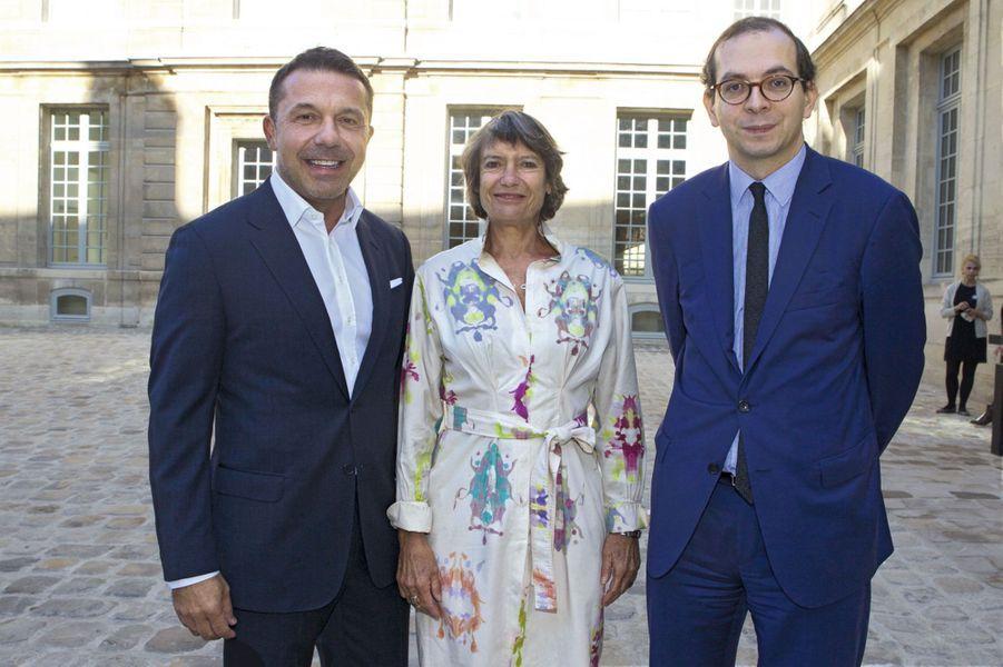 Olivier Picasso, Véronique Cayla, Laurent Le Bon