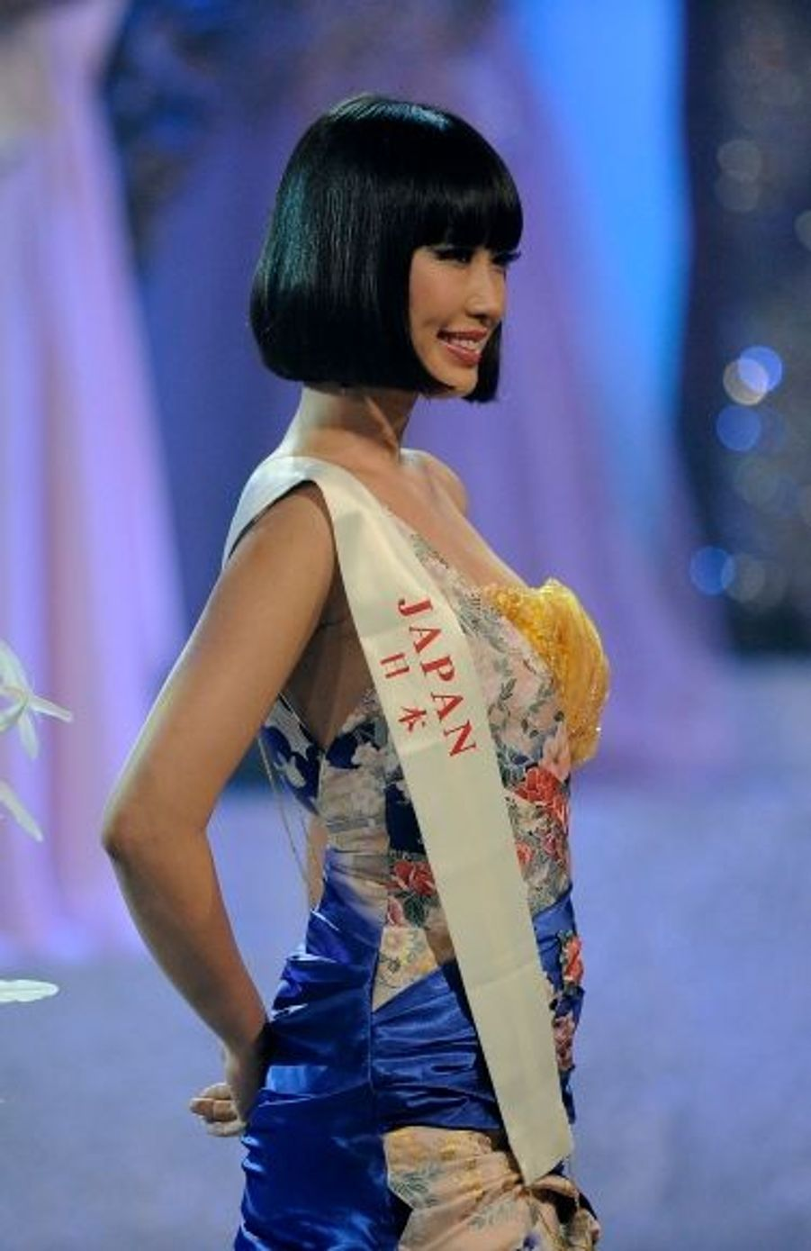 Mademoiselle Midori Tanaka a fait forte impression, mais cela n'a pas suffi pour séduire les juges.
