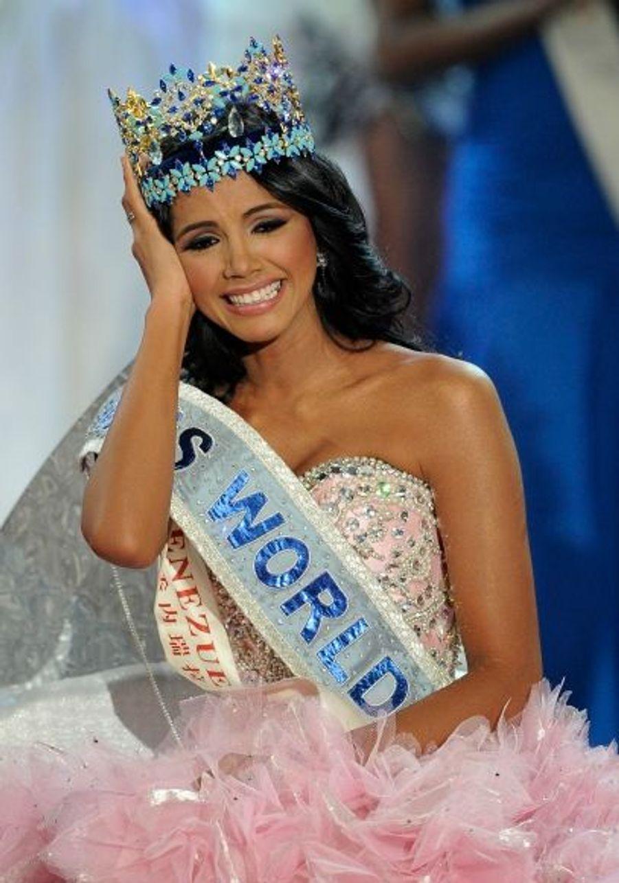 Miss Monde 2011 est diplômée de ressources humaines.
