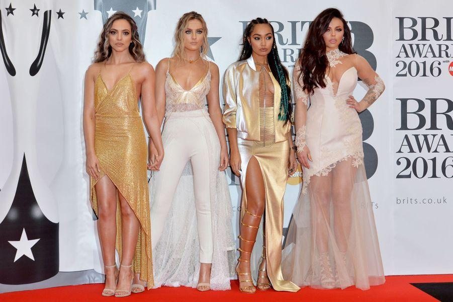 Little Mix à Londres le 24 février 2016