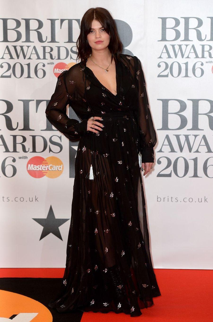 Pixie Geldof à Londres le 24 février 2016