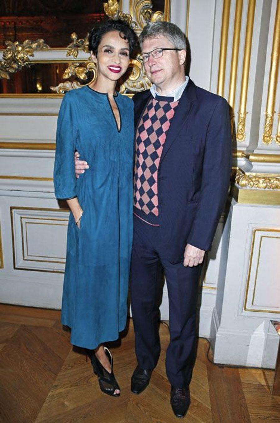 Farida Khelfa-Seydoux et Henri Seydoux