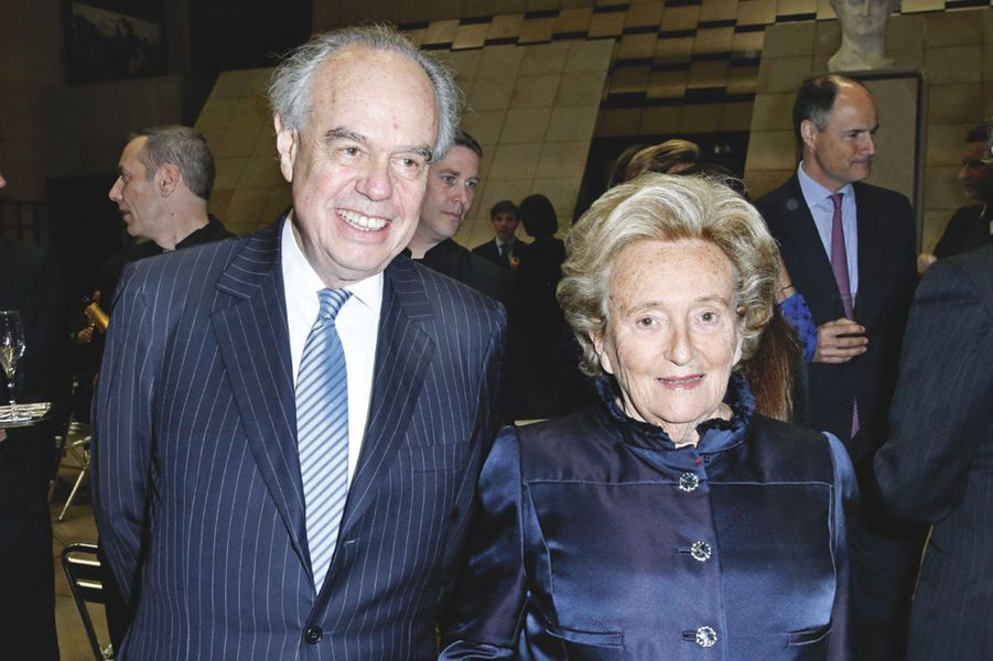 Frédéric Mitterrand et Bernadette Chirac