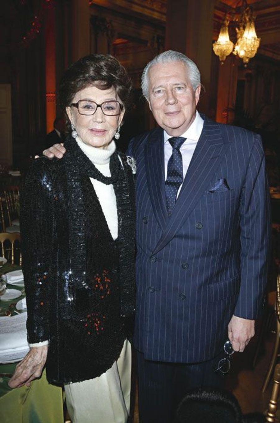 Jacqueline de Ribes et son fils, Jean de Ribes