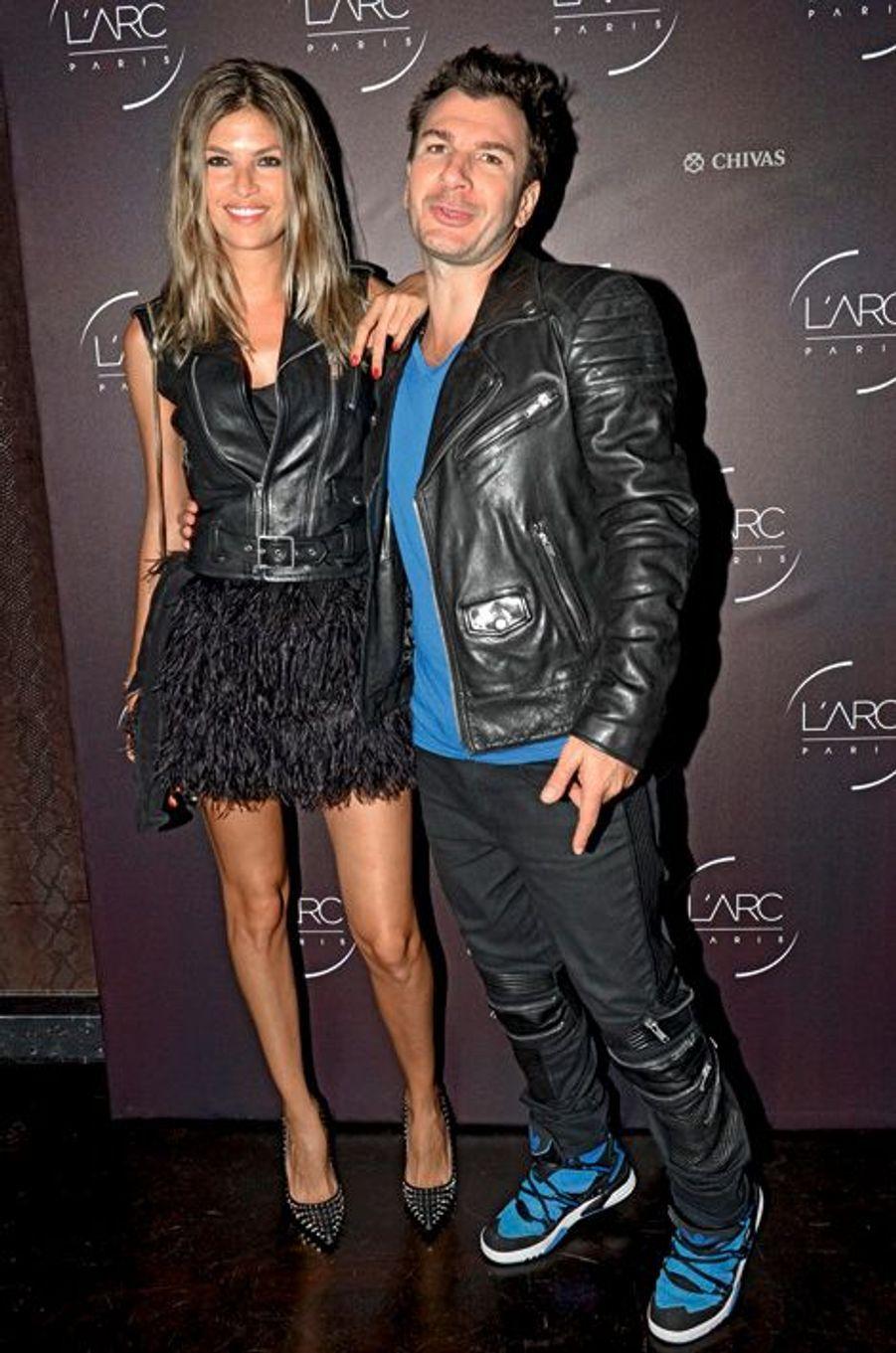 Isabelle Funaro et Michaël Youn.