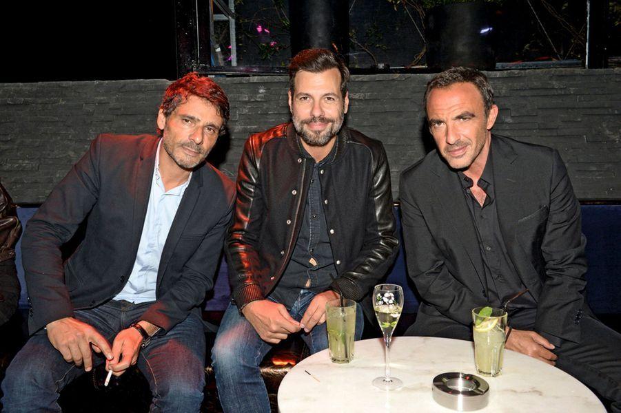 Pascal Elbé, Laurent Lafitte, Nikos Aliagas.