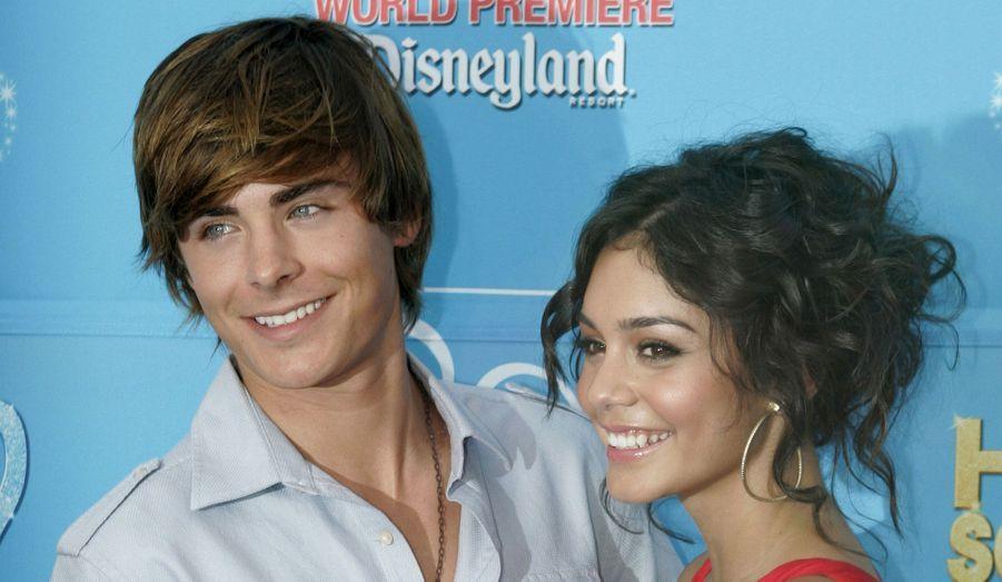 """Zac Efron et Vanessa Hudgens ont vécu ensemble pendant plus de cinq ans. Lors de leur rencontre sur le tournage du film """"High School Musical"""", lui avait 19 ans et elle 17. Mais en 2010, les deux stars ont finalement rompu, assurant à leurs fans meurtries qu'ils restaient bons amis."""