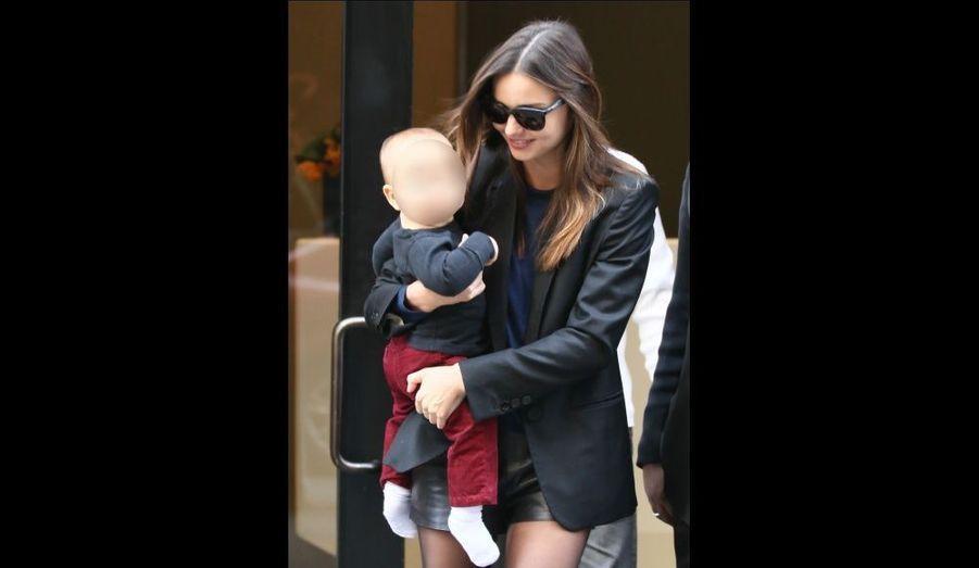 Mariés depuis juillet 2010, Miranda Kerr et Orlando Bloom ont accueilli leur premier enfant, Flynn, le 6 janvier.