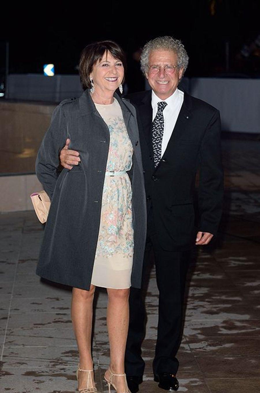 Laurent Dassault à l'inauguration de la Fondation Louis Vuitton le 20 octobre 2014 à Paris