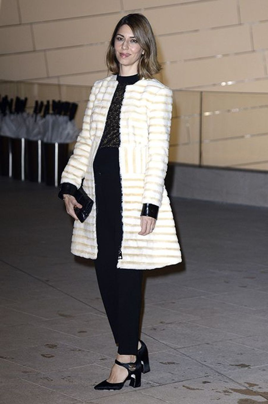 Sofia Coppola à l'inauguration de la Fondation Louis Vuitton le 20 octobre 2014 à Paris