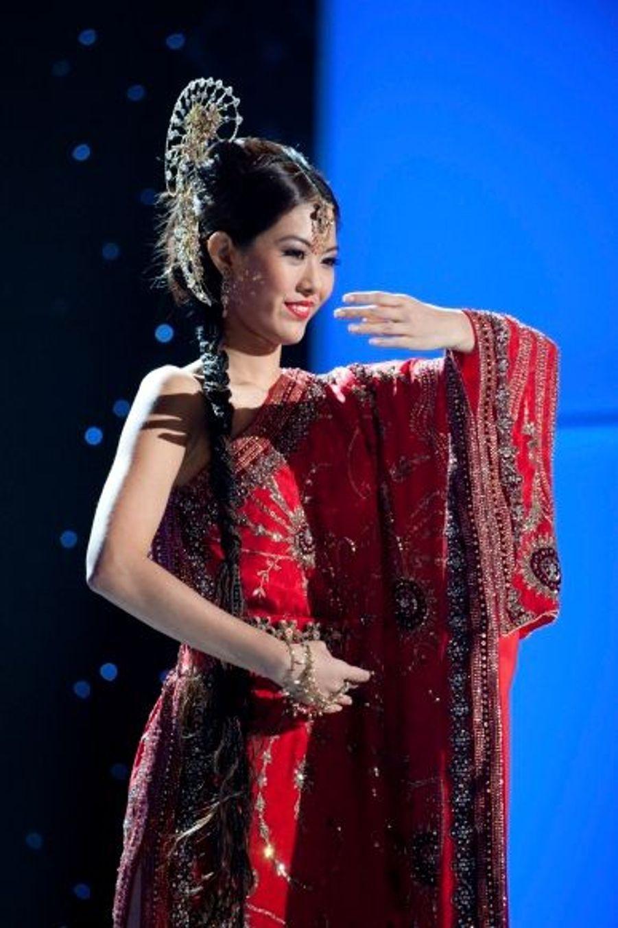 La ravissante Valerie Lim Shu Xian.