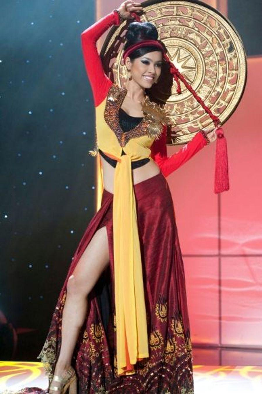 La charmante Vu Hoang My.