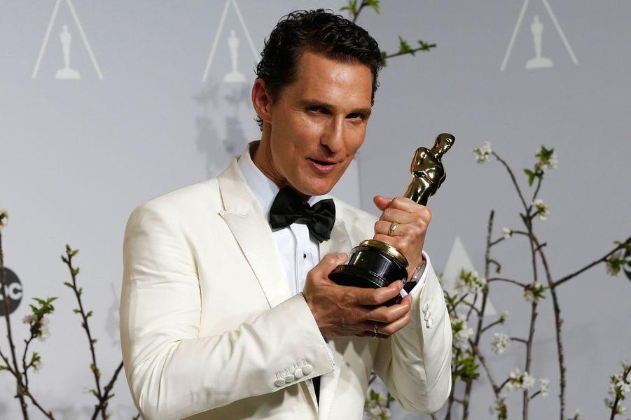 Matthew McConaughey a été longtemps abonné aux comédies romantiques. Depuis quelques temps, Hollywood lui confie des rôles avec plus d'épaisseur et lui donne sa chance. Résultat, l'acteur se révèle grâce à des films comme «Mud», «Le Loup de Wall Street», «Magic Mike» ou bien encore «Killer Joe». Son dernier film en date, «The Dallas Buyers Club», lui a permis de remporter l'Oscar du Meilleur acteur.
