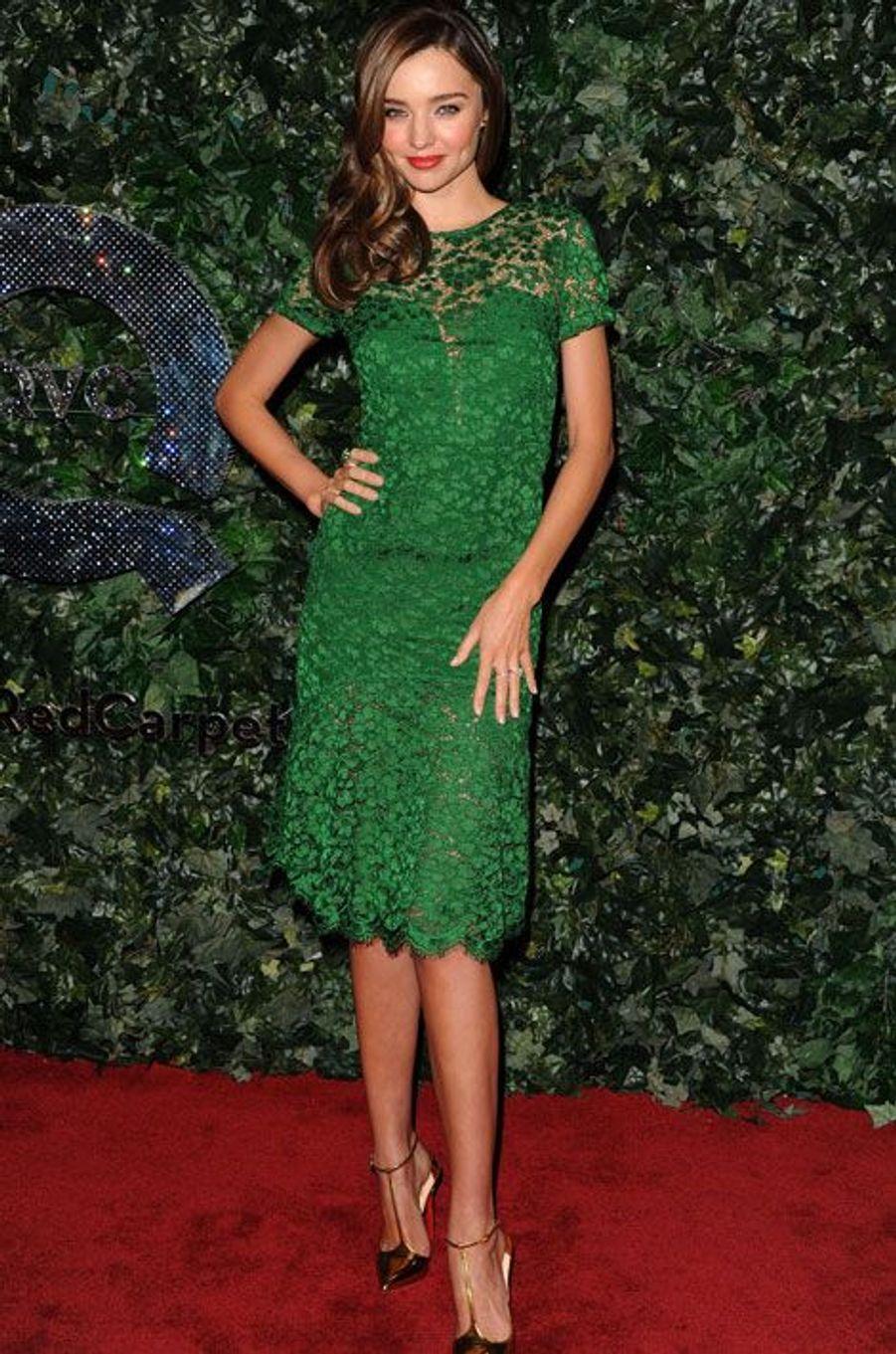 A la soirée du Red Carpet Style de Beverly Hills en février 2013