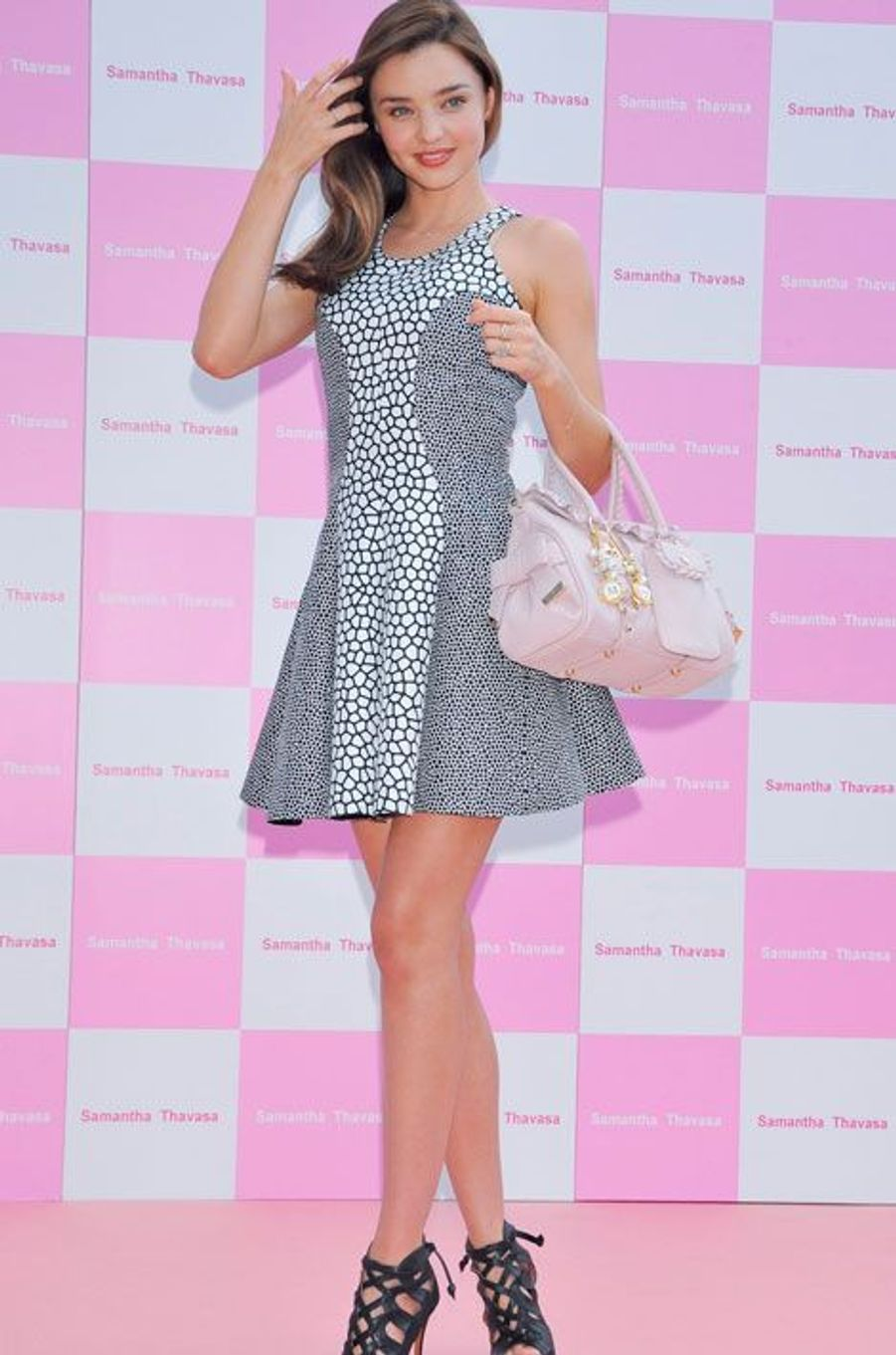 A un événement de la marque japonaise Samantha Thavasa, à Tokyo en septembre 2012