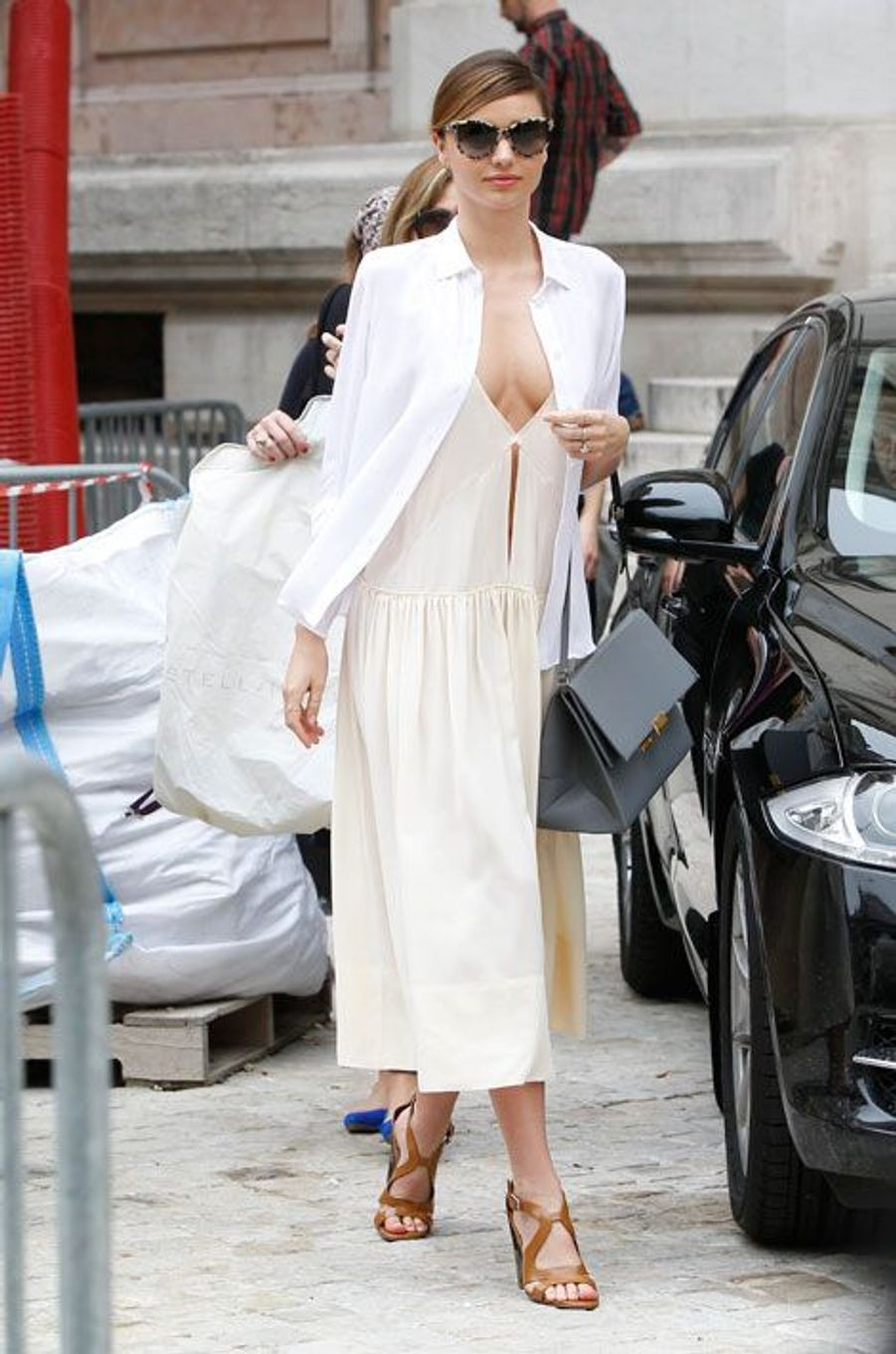 Au défilé Stella McCartney, à Paris en septembre 2013