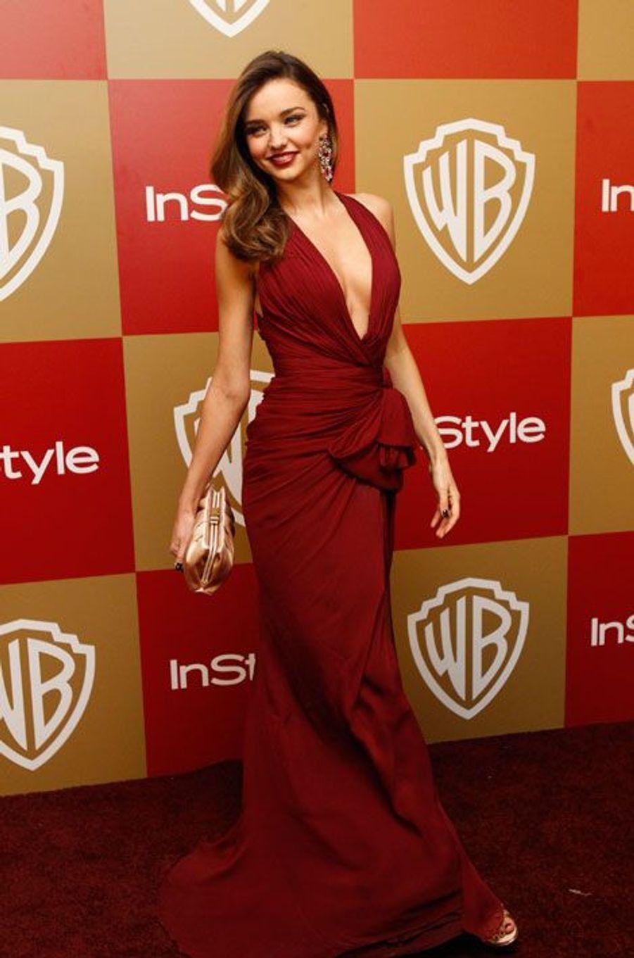 Aux Golden Globes en janvier 2013