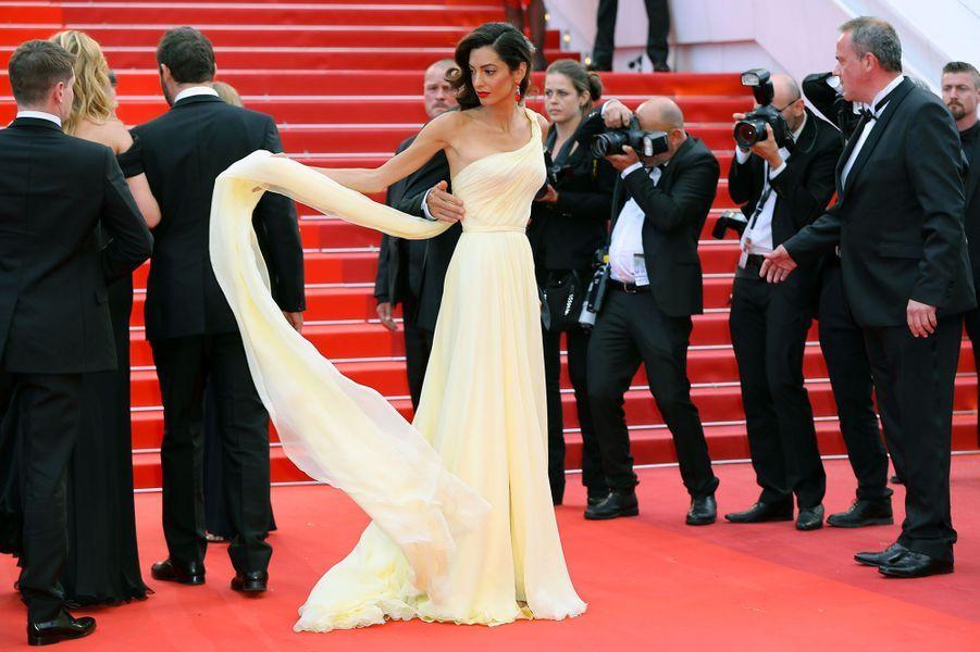 Amal Clooney en Atelier Versace